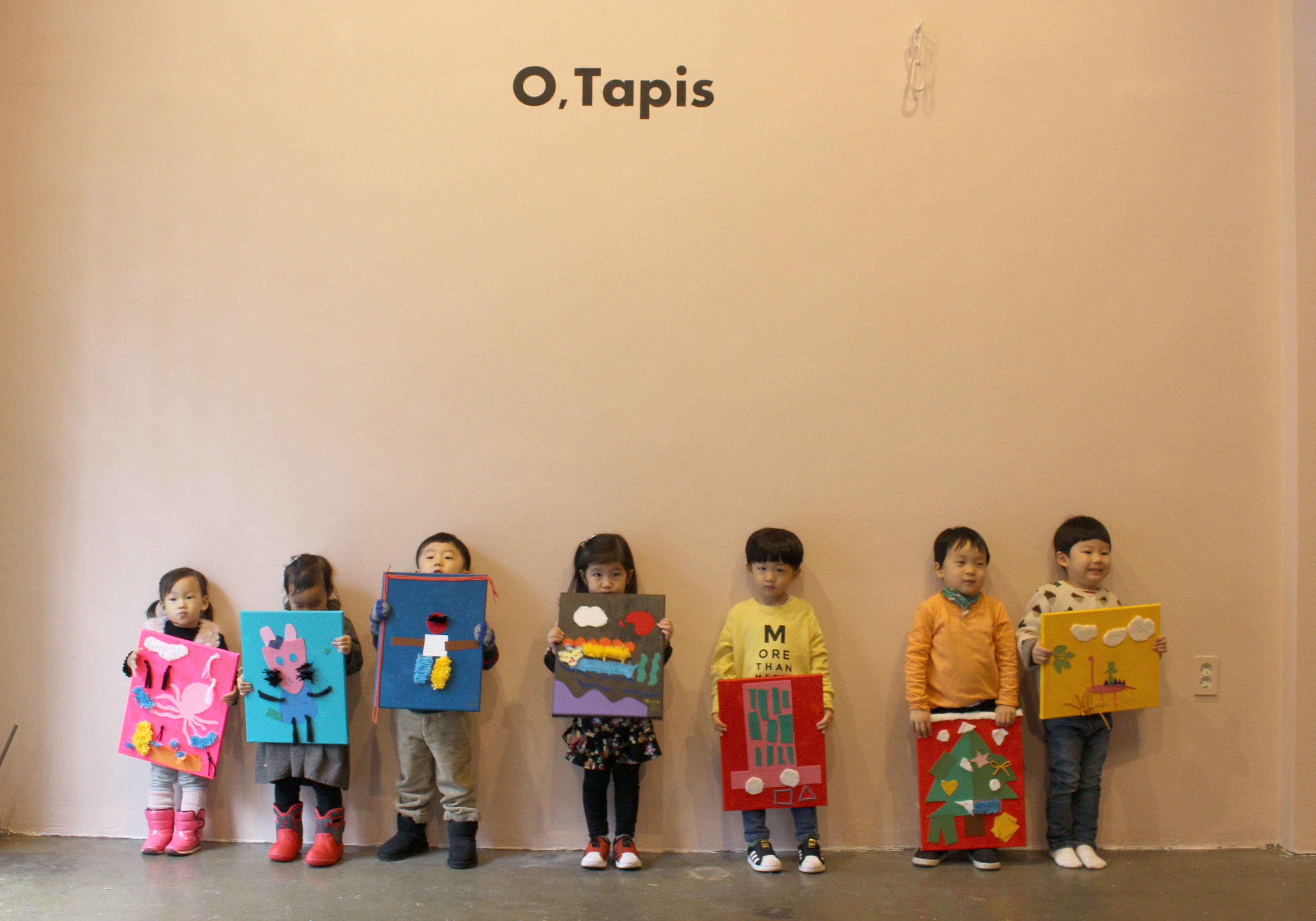 "Exhibition Story - Kids Art Class ""Design my rug"""